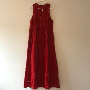 NWT Madewell embroidered maxi dress